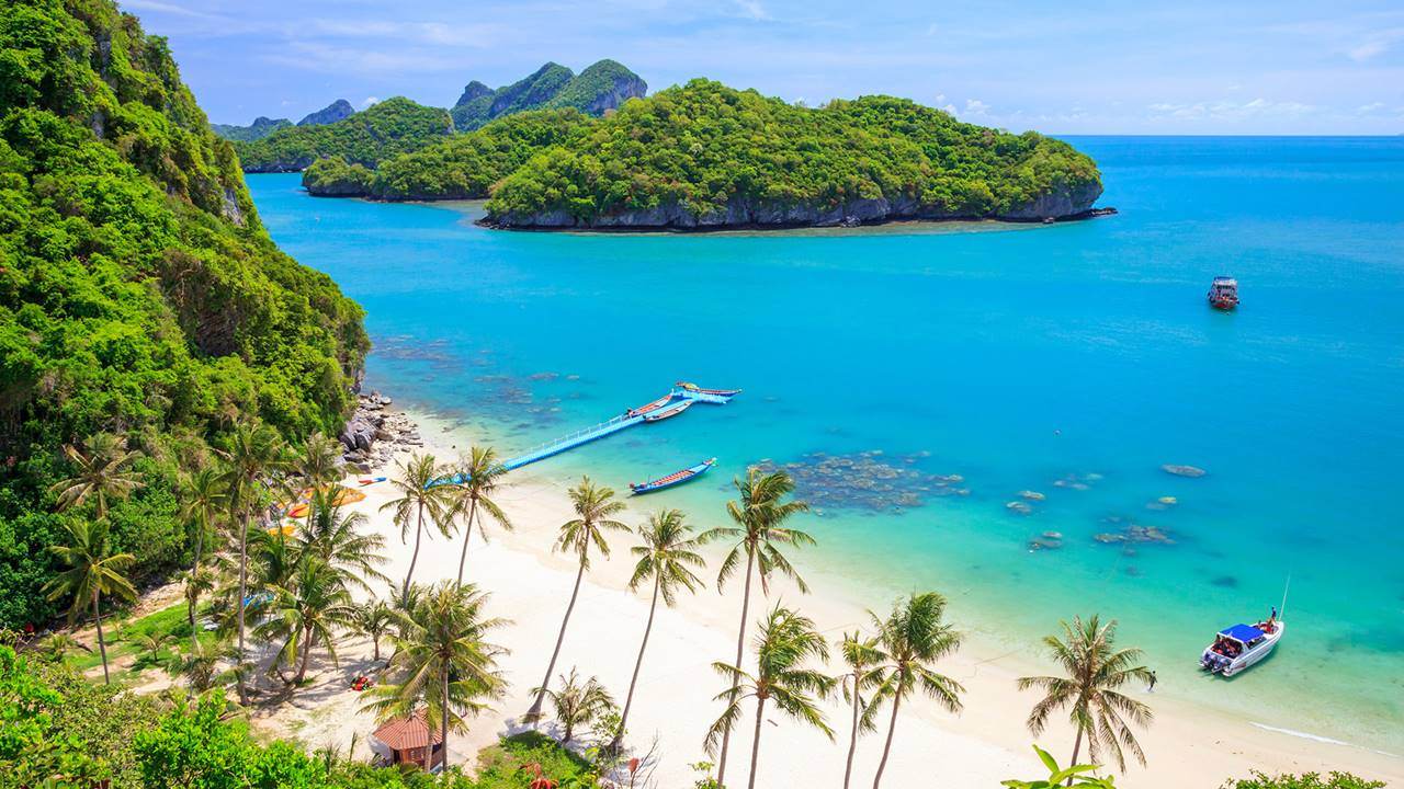 En İyi Tropik Adalar - Koh Samui