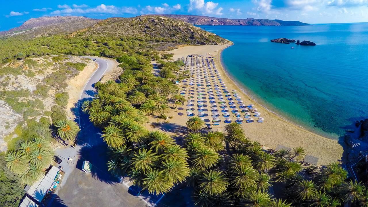 Girit'in En Güzel Plajları: Vai Beach