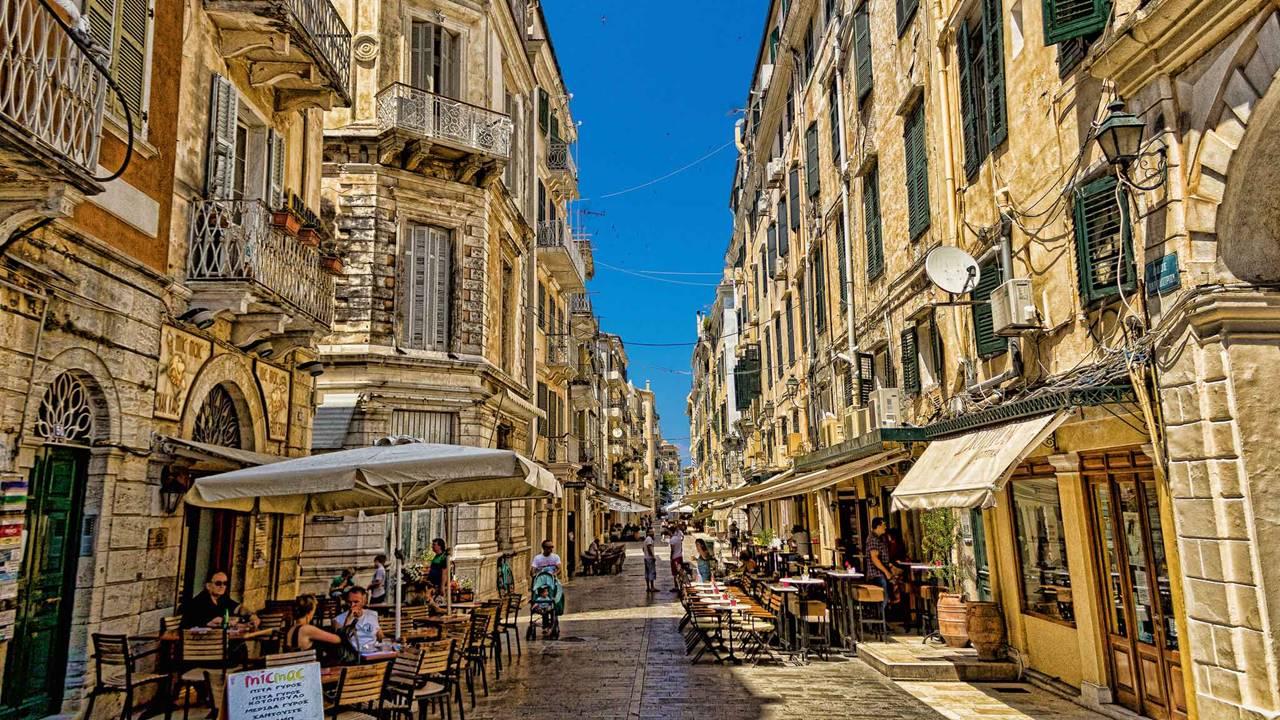 Korfu Gezilecek Yerler Listesi: Kent Merkezi