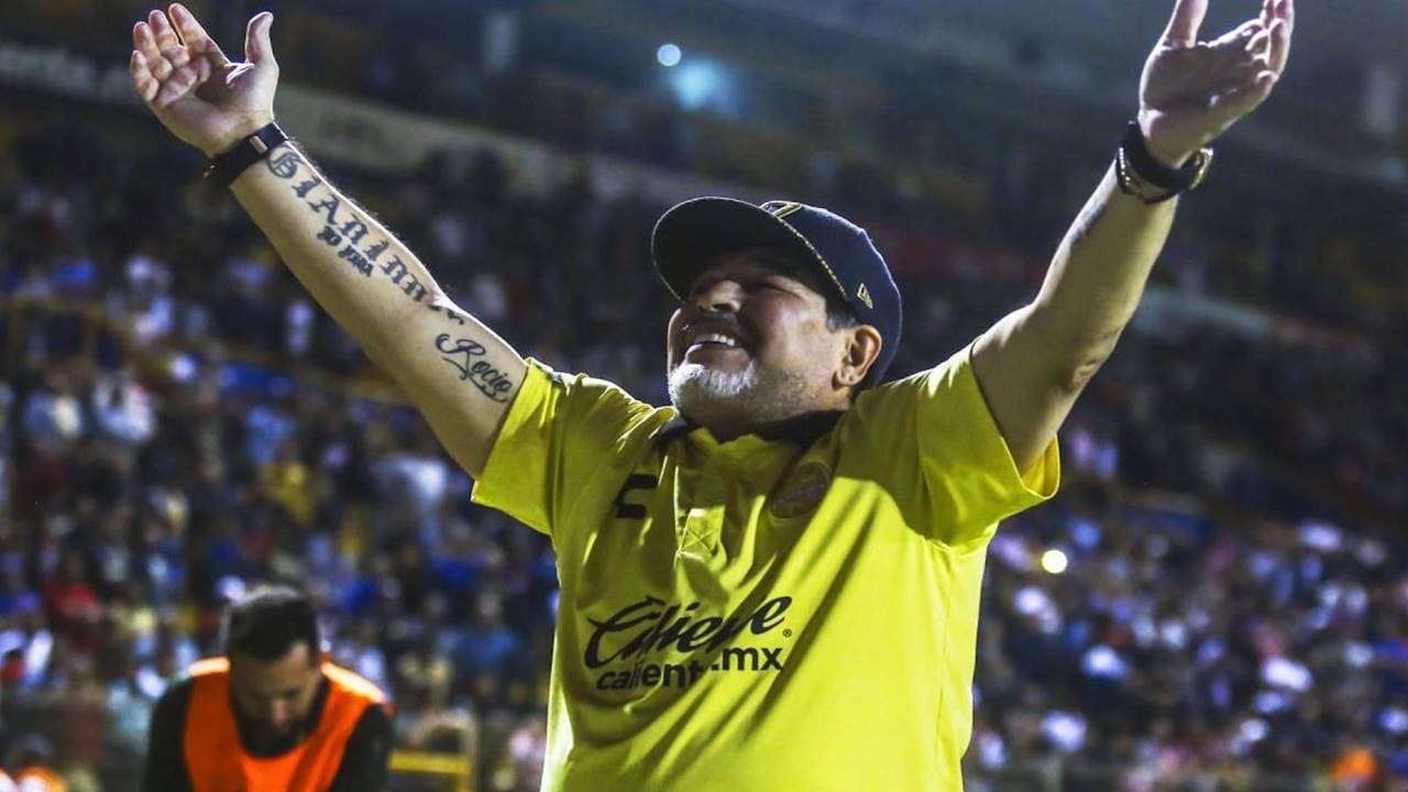 Netflix Futbol Yapımları - Maradona in Mexico
