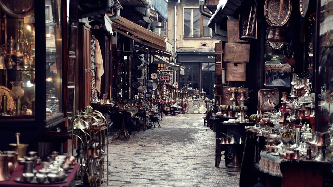 Saraybosna Gezilecek Yerler: Başçarşı